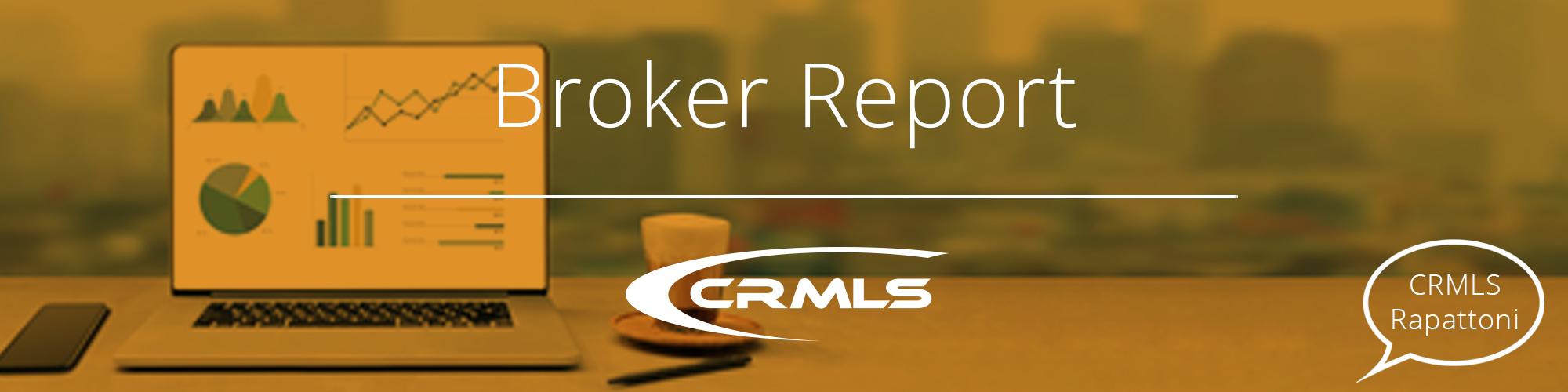 CRMLS Rapattoni Broker Report: September 2021 Edition